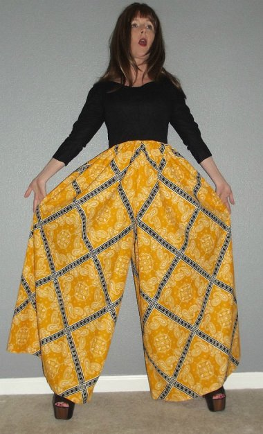 Finally! Pants with a guest room!