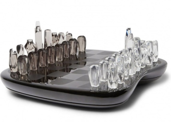 Zaha Hadid Chess Set