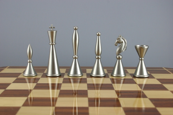 Art Deco Chess Set