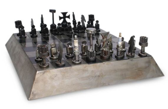NOVICA Recycled Auto Parts Set