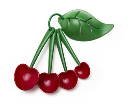 Cherry measuring spoons