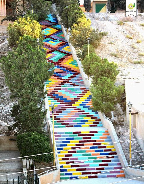 Stairs of Peace, Syria Photo: Jood Voluntary Team