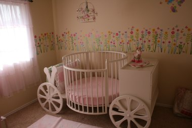 Carriage Crib by StollFurnitureDesign
