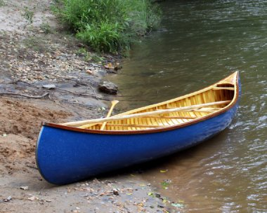 15' Built-to-Order Wood Canvas Canoe by WoodCanvas