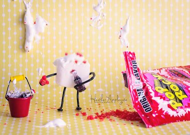 Marshmallow Microcosm is hilarious and rude and brilliant. By Heaphotography