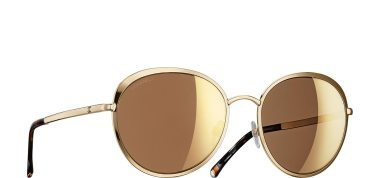 Chanel 18K Gold Sunglasses ($515) I don't wear a lot of yellow gold, but these are amazing!