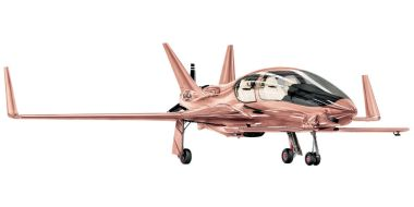 Cobalt Valkyrie-X Private Plane ($1,500,000). Ooh, shiny!