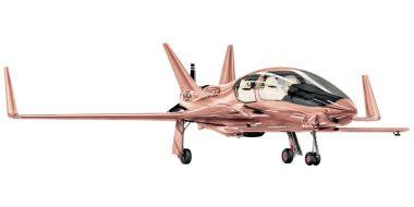 Cobalt Valkyrie-X Private Plane ($1,500,000). Ooh, shiny!