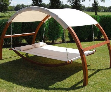 Leisure Season Outdoor Swing Bed with Canopy ($619) I could do some amazing napping in this thing. Of course, I'd also have to hire someone to keep the neighborhood cats off it...