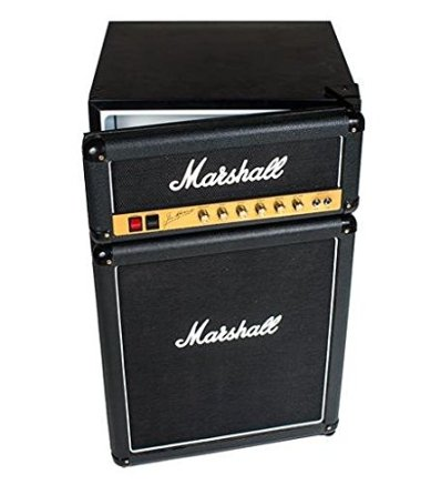 Marshall Amp Mini-Fridge ($400). Now THAT's rock and roll!
