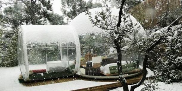 Honeywell Inflatable Bubble Tent ($1,950). Because who doesn't want to live in a snow globe?