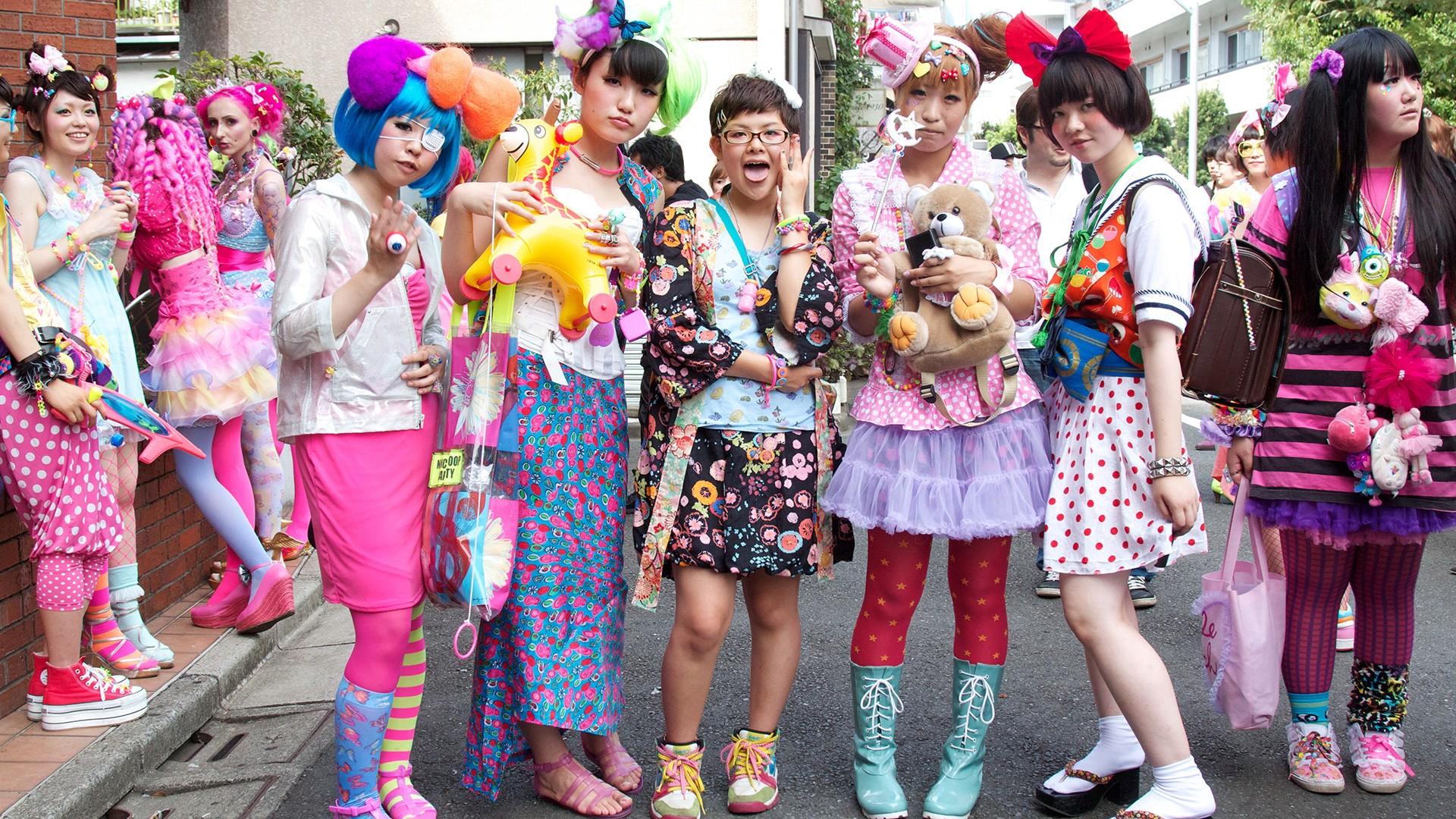 Teen trends in japan