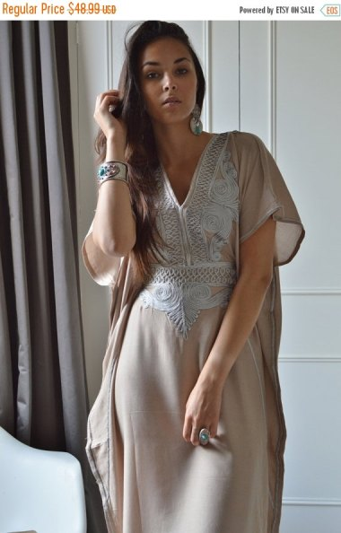 Kaftans, not just for fat old ladies anymore! By MaisonMarrakech