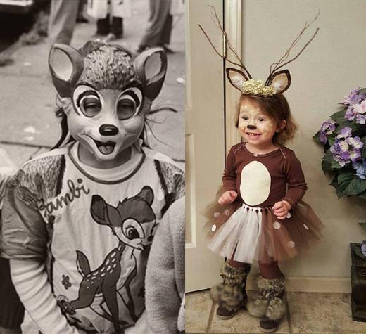 deer then now
