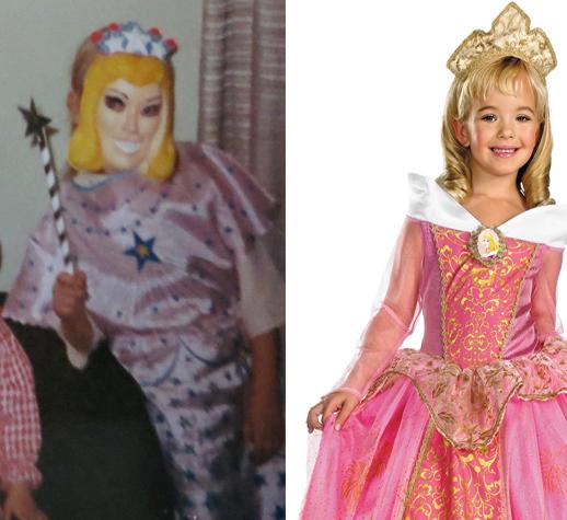 princess then now