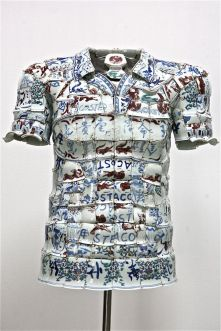 LI Xiaofeng, LACOSTE Porcelain Polo, 2010 front 1 PHOTO BY MIKO HE