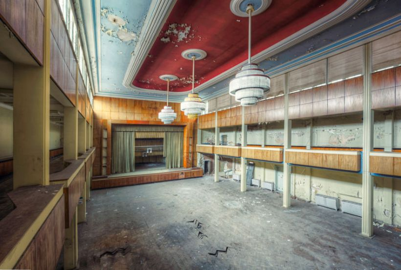 abandoned event hall